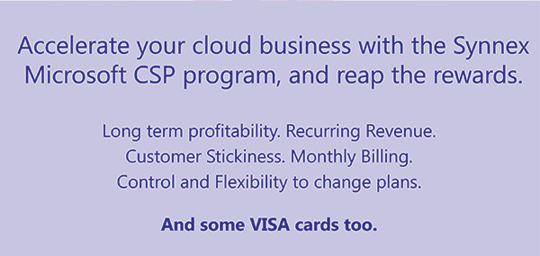 Get Up to $2000 in Visa Cards From Microsoft CSP