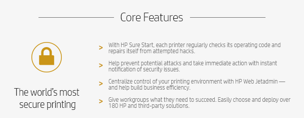 Core Features: The Worlds most secure printing