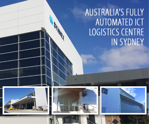 Synnex fully automated ICT logistics centre in Sydney