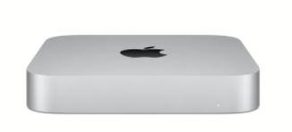 Apple Mac mini: Apple M1 chip with 8 core CPU and 8 core GPU, 256GB SSD