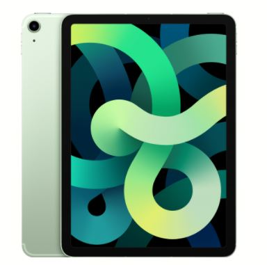 """Apple iPad Air 4G LTE 256 GB 27.7 cm (10.9"""") Wi-Fi 6 (802.11ax) iOS 14 Green"""